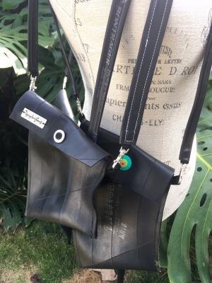 11 Reclaimed Rubber Innertube Bags