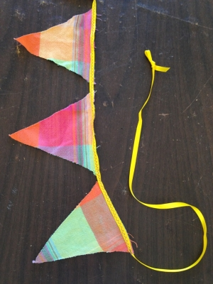 16 Bunting Banner